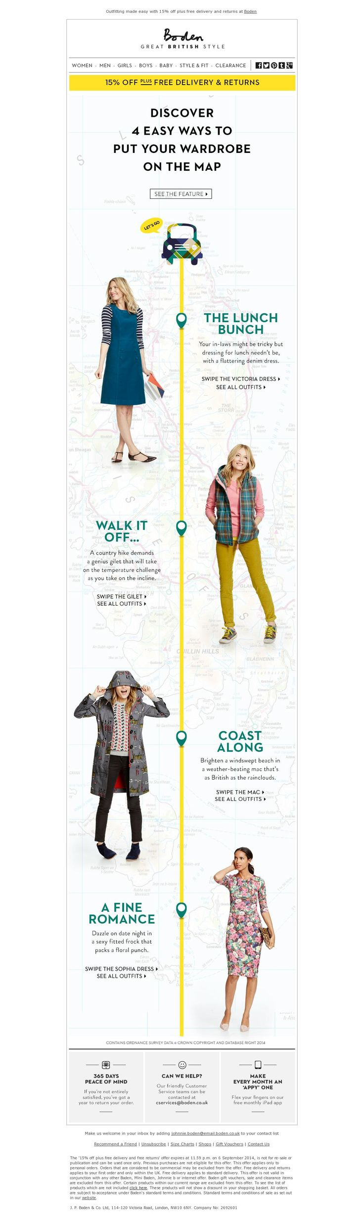 Discover 4 Easy Ways to Put Your Wardrobe on the Map