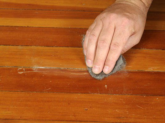 how to fix scratched up hardwood floors