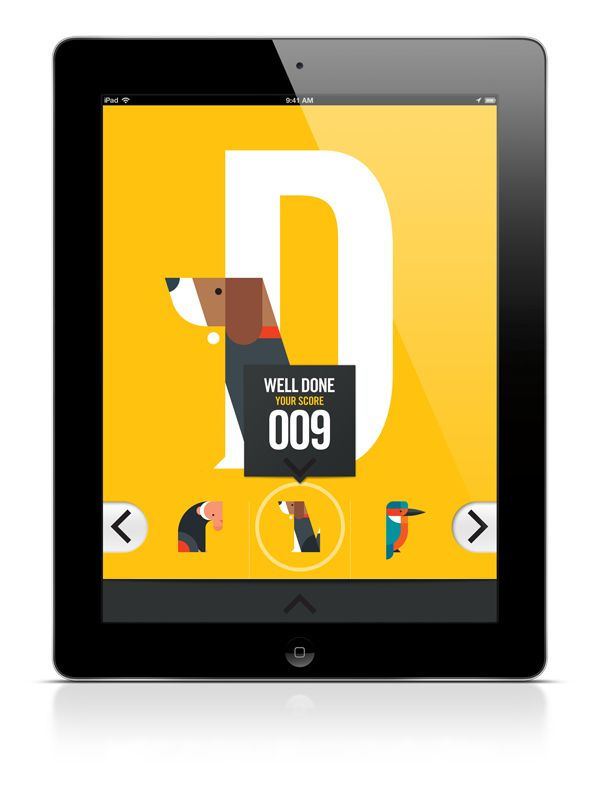 ABC iPad App on Behance