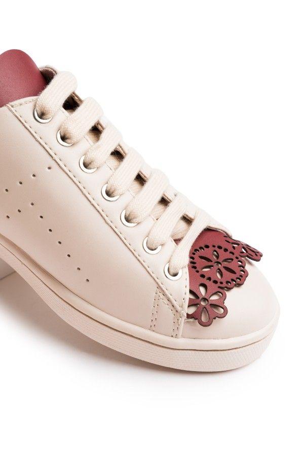 TAPI TAPI Shoe Fringes Floral — Bora Bohème