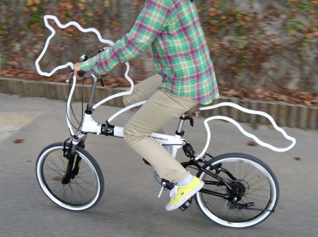 """Horsey"", a bicycle clever design entry by Eungi Kim for the Seoul Cycle Design Competition 2010"