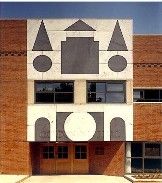 Gordon Wu Hall, Robert Venturi
