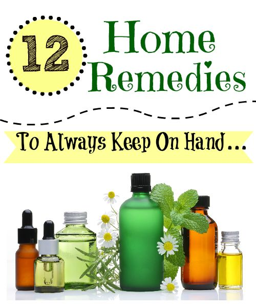 12 Home remedies passed down from my mom and now used in my own family. They have saved us many trips to the doctor! Most of them are kid friendly.