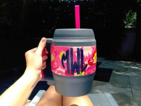 Fun Summer Craft! How to Paint Bubba Mugs