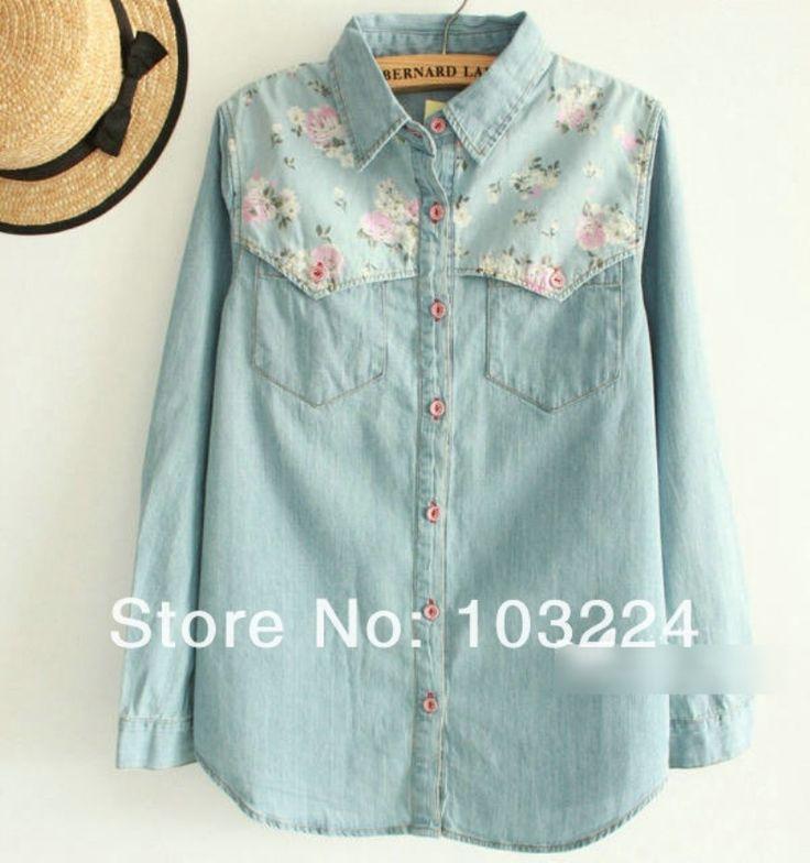 Kot Çiçekli Gömlek 56,00 TL - KABİN BUTİK | Kabin Giyim | Bayan Giyim | Elbiseler | Şifon Gömlek | Bayan Gömlek | Bayan Pantolon