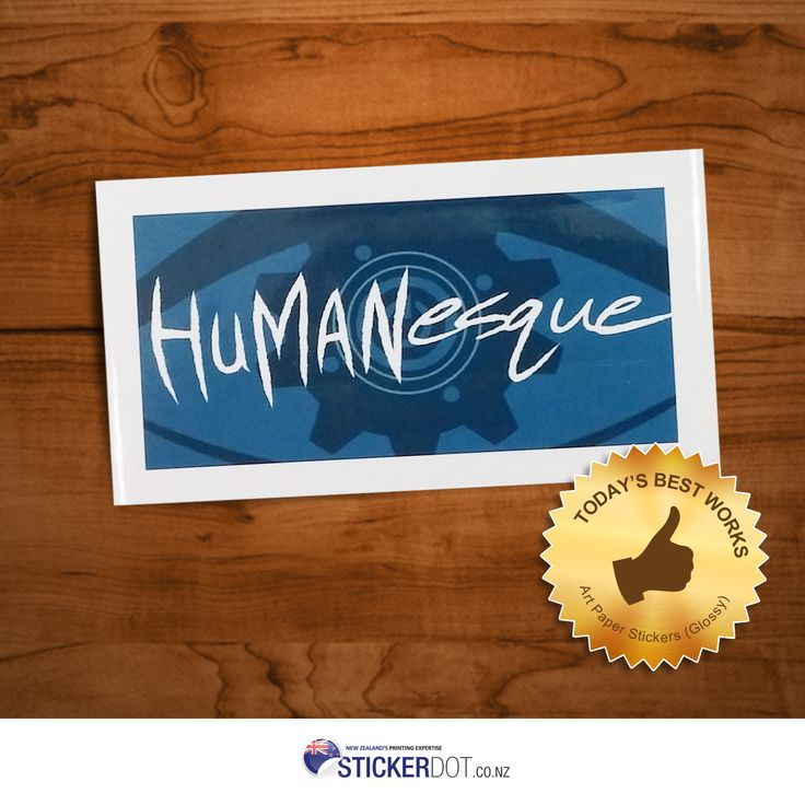 Featuring our today's best work - #ArtPaper #Stickers (Glossy Finish). Order Art #PaperStickers today with the lowest price offered for $42 only!