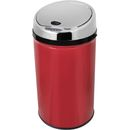 Morphy Richards 971496 Round Sensor Bin - Red - Accentuate your personal style and add some pizzazz to your household waste storage solution with the Morphy Richards 42 Litre Round Sensor Bin. Perfect when you need both hands free such as when scra http://www.MightGet.com/january-2017-11/morphy-richards-971496-round-sensor-bin--red-.asp