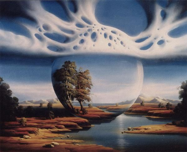 Landschaftsmalerei surrealismus  249 besten Surrealism Bilder auf Pinterest | Foto-manipulation ...