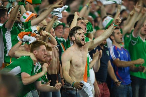 Irish-supporters