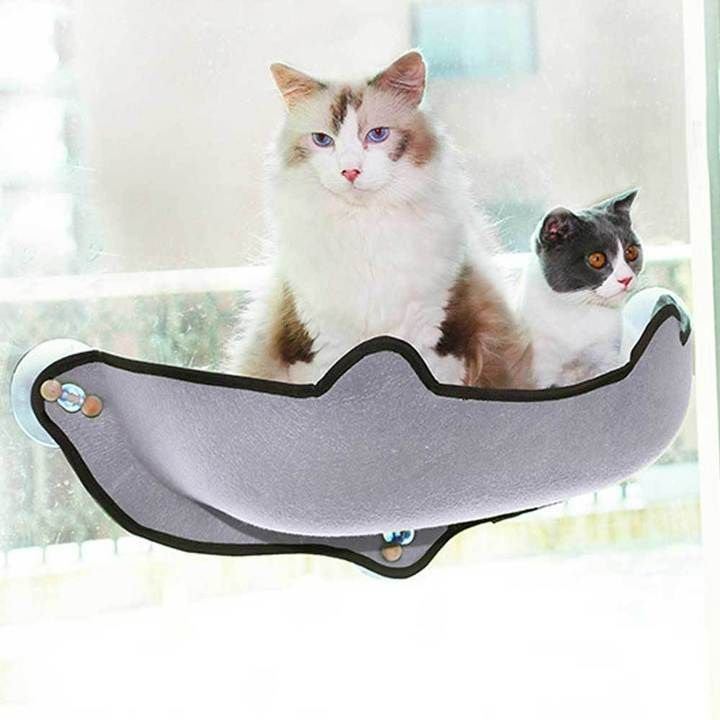 Black Friday Big Sale Suction Cup Comfortable Cat Bed Cat Hammock Warm Bed Cat Window
