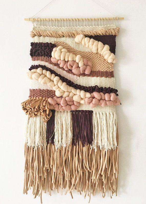 Hand woven tapestry wall hanging | Woven wall hanging | Woven tapestry | Wall weaving | Wall art | Home decor | Nursery decor | Fiber art