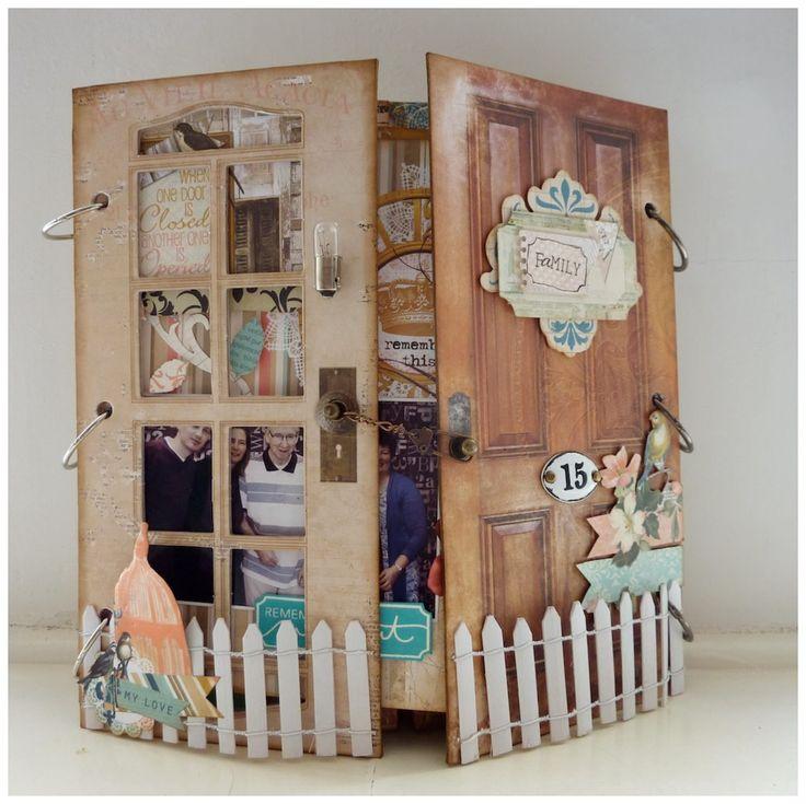 Hallo allemaal!   Al een paar weken ligt het prachtige papier van Bo Bunny, collectie the Avenues in de winkel De Craftorij in Ede. Lia had...