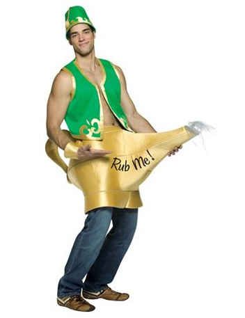 genie in the lamp costume 25 sexy halloween costumes for men that should - Womens Halloween Costumes Not Skanky