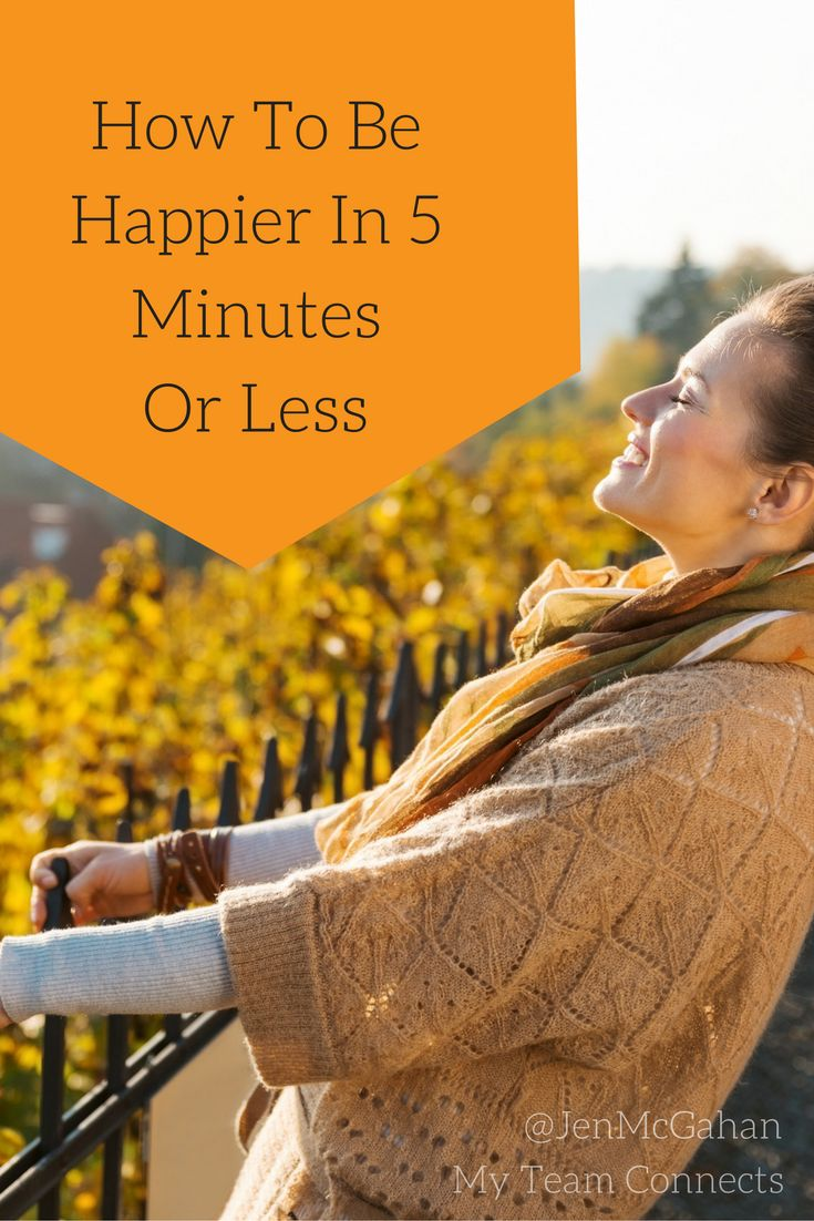 Been down for awhile? You have to try something new to kickstart a happier outlook.  15 Ways To Feel Happier In 5 Minutes Or Less http://myteamconnects.com/15-ways-feel-happier/?utm_campaign=coschedule&utm_source=pinterest&utm_medium=My%20Team%20Connects&utm_content=15%20Ways%20To%20Feel%20Happier%20In%205%20Minutes%20Or%20Less #happiness #inspiration