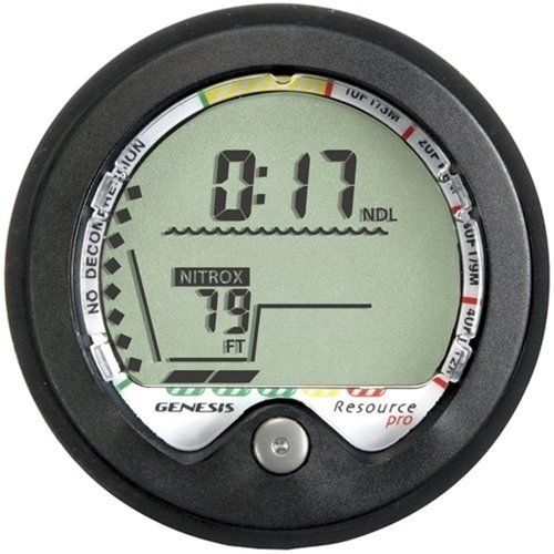 The ReSource Pro has an intuitive operation and display, with large easy to read numbers and a clean matter of fact screen that gives you what you need to know about your dive when you need it. Computer can be used for air and nitrox diving, and has a gauge mode option. WP Site Guardian...