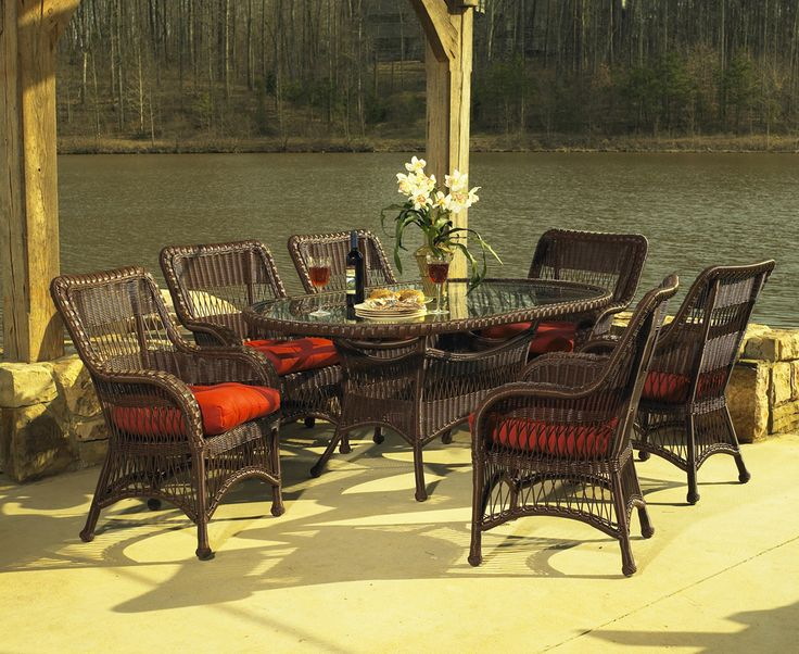 Outdoor Resin Wicker Dining Set Pinned By Wickerparadise.com Part 69