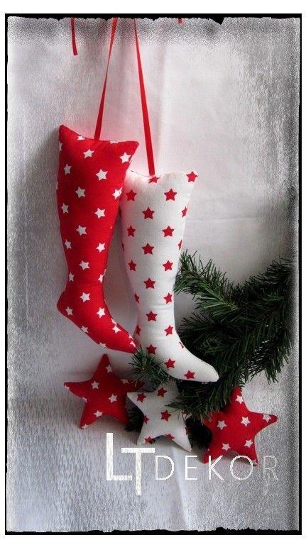 Vánoční bota, hvězdička