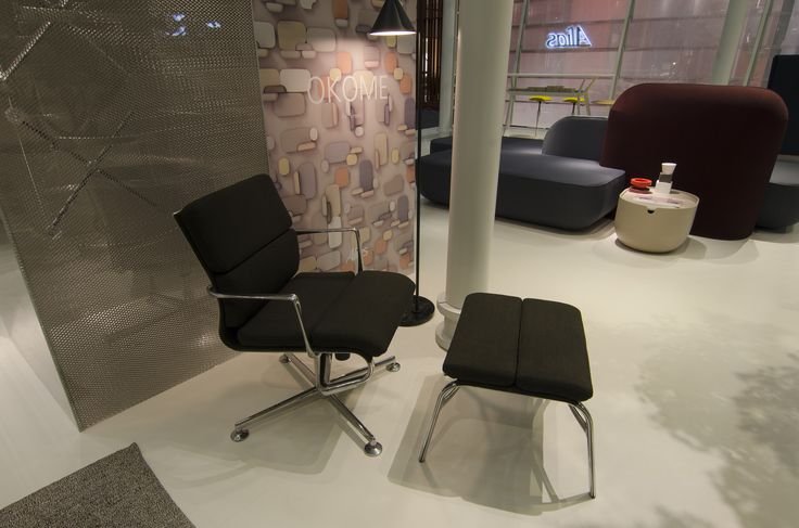 Alias @ ORGATEC 2016 New office collections frame 52 soft by Alberto Meda