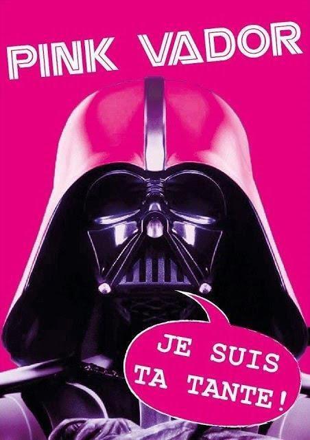 Pink Vador : Je suis ta tante !
