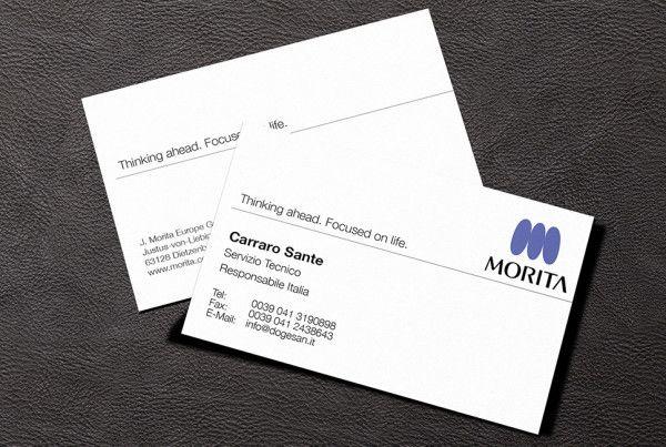 Biglietti da Visita - Morita | #businesscard #design - #pixeldesign