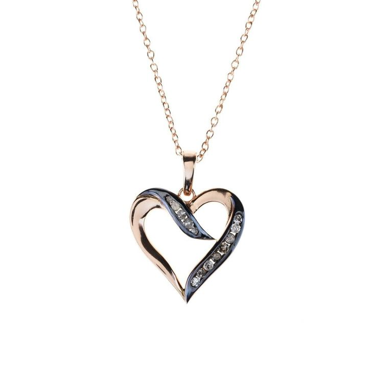 Necklaces Great for everyday styling this necklace is handcrafted from solid silver and handset with rose-cut diamonds. with free shipping