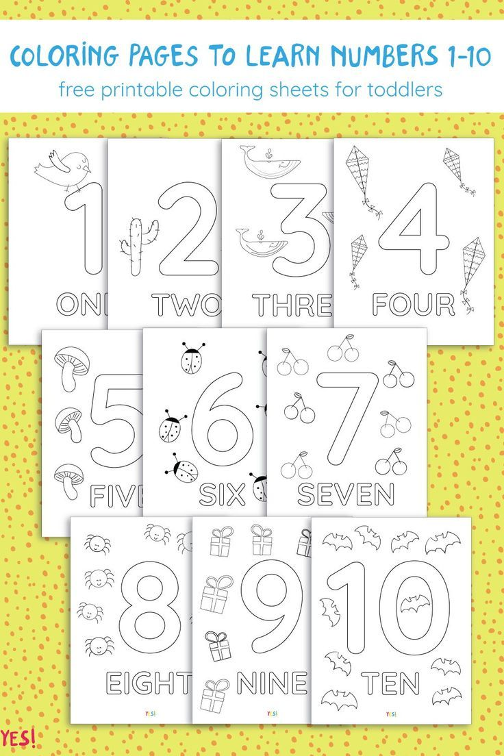 26-260 Printable Numbers Coloring Pages - YES! we made this