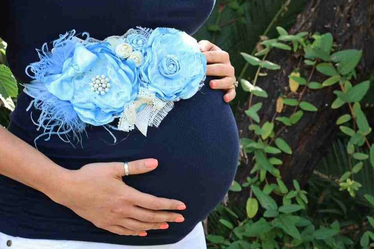 Pregnancy Belly Band Maternity Sash Wedding Sash Photo