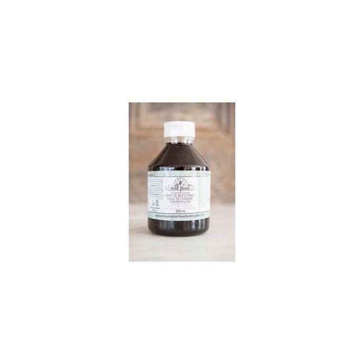 Miss Mustard Seed's Hennepolie 500 ml - Voedt het oppervlak en beschermt tegen slijtage, vlekken en water.