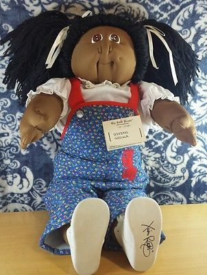 1978 Soft Sculpture ~ Signed Xavier Roberts ~ The Little People ~ Cabbage Patch