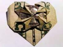 44 Ideas Origami Heart Instructions Dollar Bills
