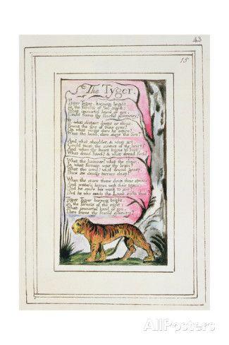 [B] The Tyger, Blake William