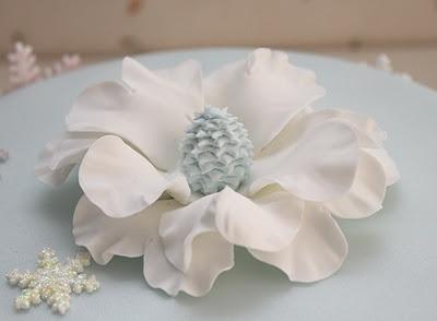 Flor blanca de Navidad