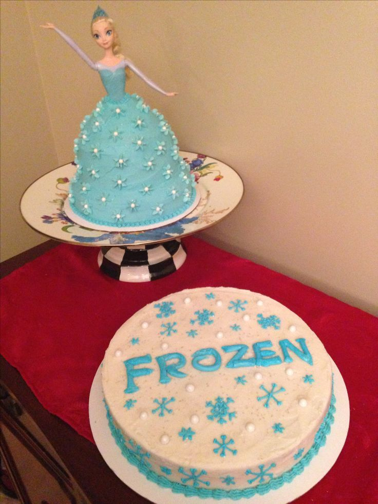 Best 25+ Frozen doll cake ideas on Pinterest