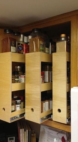 Spice Storage Home Organization Pinterest Storage