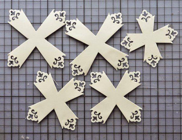Готовимся к новому году - красивые снежинки из бумаги