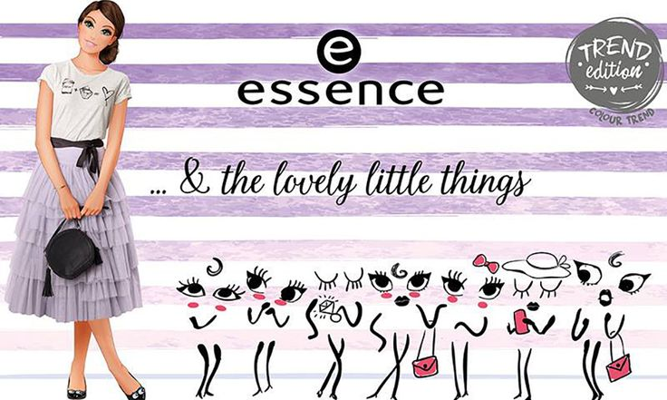 Essence & The Lovely Little Things: linea trucco super chic! - https://www.beautydea.it/essence-the-lovely-little-things-linea-trucco/ - Decori alla parisienne e prodotti make up raffinati: ecco la nuova esclusiva trend edition & The Lovely Things Essence Cosmetics!