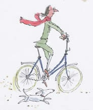 I absolutely love Quentin Blake's work. (Illustrator for many of Roald Dahl's books) So expressive.