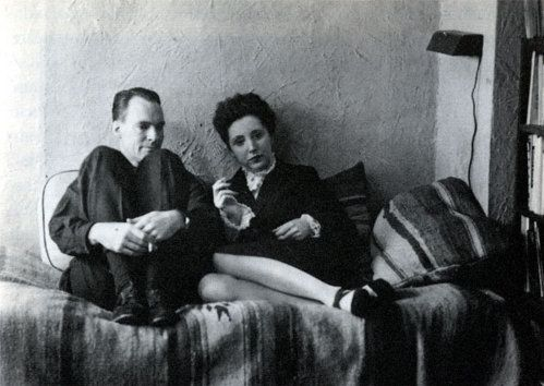 Henry Miller and Anaïs Nin, Louveciennes, France      1932     Uncredited Photograph