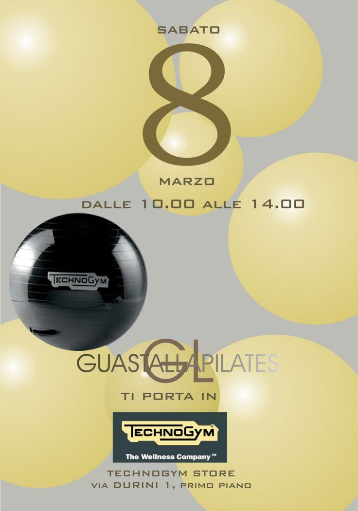 #FestadellaDonna #GuastallaPilates #Pilates #TechnoGym #Milano #Wellness  #fitball