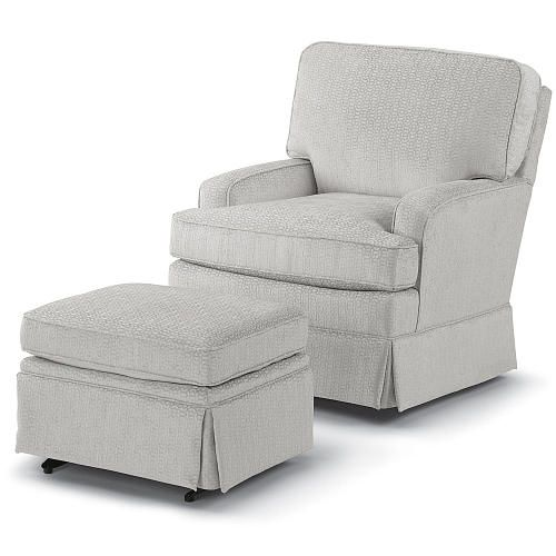 "Best Chairs Charlotte Swivel Glider - Moondust - Best Chairs - Babies ""R"" Us"