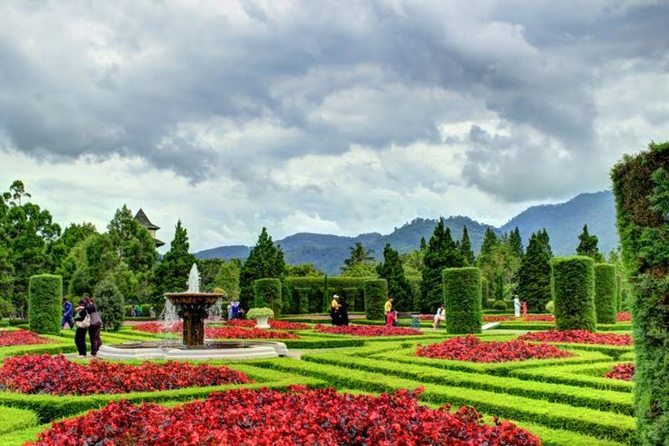 Taman Bunga Nusantara di Cipanas, Kabupaten Cianjur, Jawa Barat