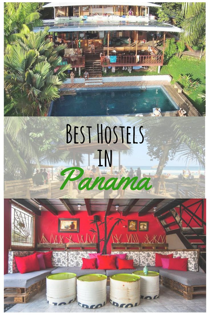 You are travelling to Panama and you are still looking for accommodation? I created for you a list of the best Hostels in Panama. Here you will find some great hostels to stay during your trip at the following places: Panama City, Bocas del Toro, Santa Catalina, Boquete and El Valle de Anton #besthostels #panama #travel #panamacity #backpacking #bocasdeltoro #santacatalina #boquete #valledeanton Thanks a million for repinning