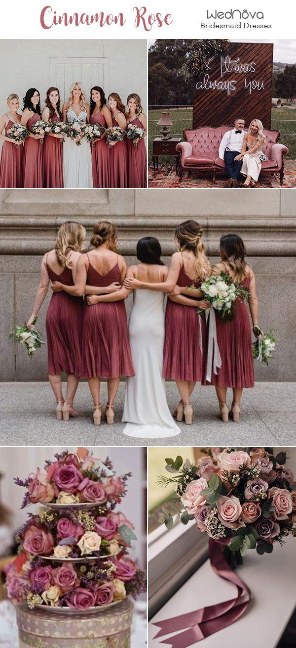 b6b8640a11ba3 Cinnamon Rose Bridesmaid Dresses dusty rose fall wedding ideas wedding  shots wedding  bridesmaiddressescinnamon rose bridesmaid dresses