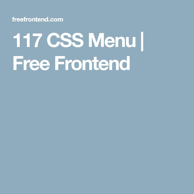 44 best Webdesign dingen images on Pinterest Design websites, Site - best of blueprint css menu