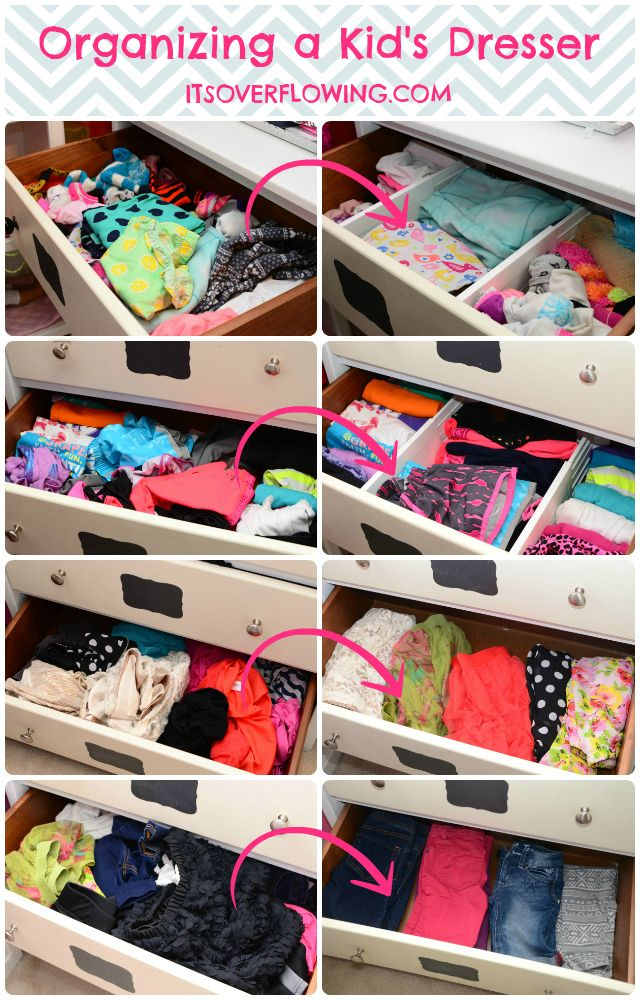 How To Organize Dresser Drawers Pants