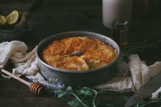 Honeyed Greek Filo Custard on Food52
