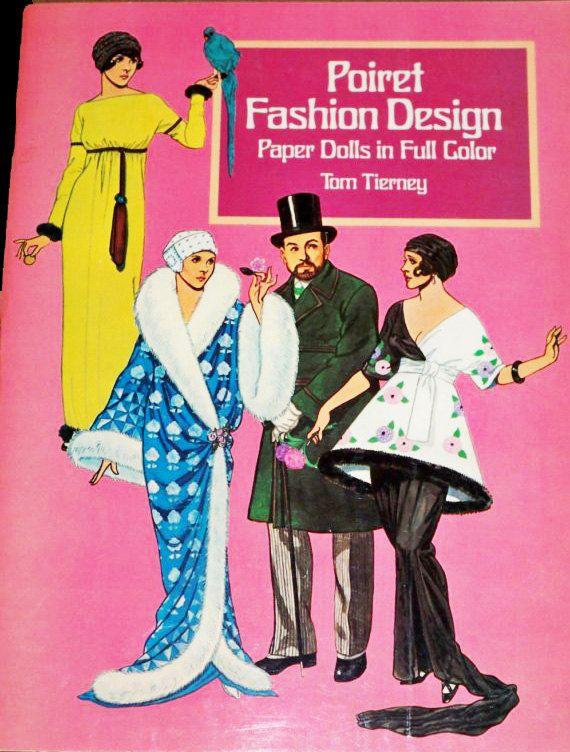 Fashion Design Paper Dolls