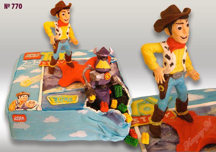 Детский торт, торт ковбой, История Игрушек #детскийторт #тортмальчику #историяигрушек #тортковбой