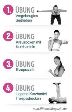 Übungen Arme