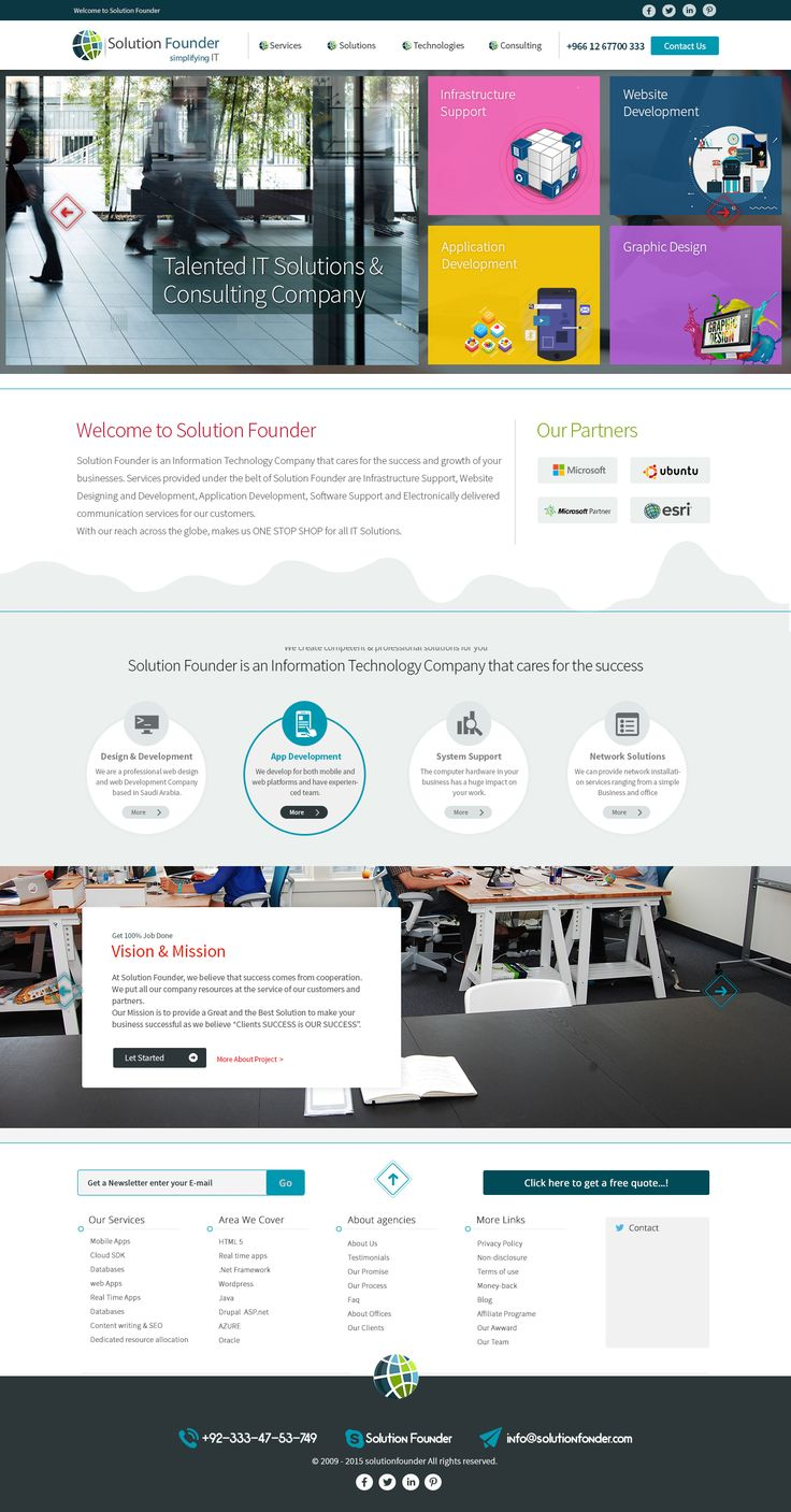 """Check out my @Behance project: """"web design for solution founder it company"""" https://www.behance.net/gallery/40691479/web-design-for-solution-founder-it-company"""